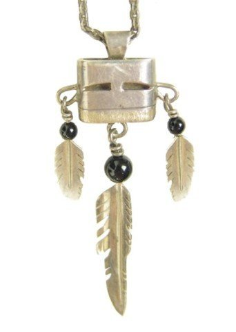 508: Hopi Pendant Necklace- Knifewing