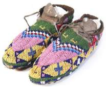 895: Sioux Ceremonial Moccasins