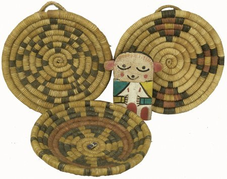 Hopi Basketry Lot
