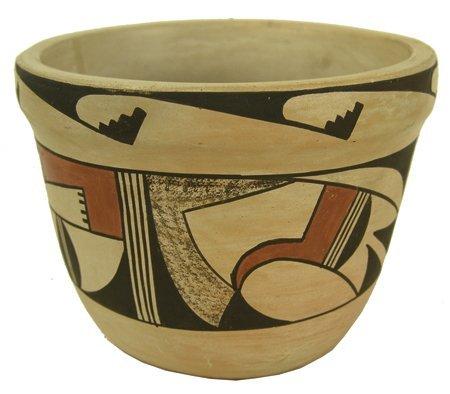 Hopi Pottery Jar - Frog Woman (Paqua Naha)