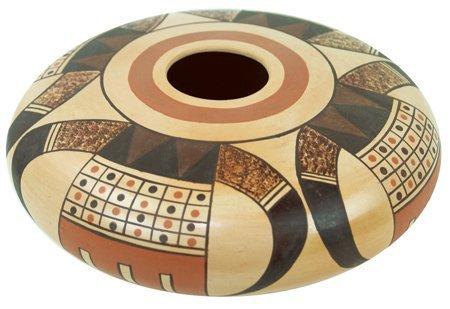 """Hopi Pottery Jar - """"D.S."""""""