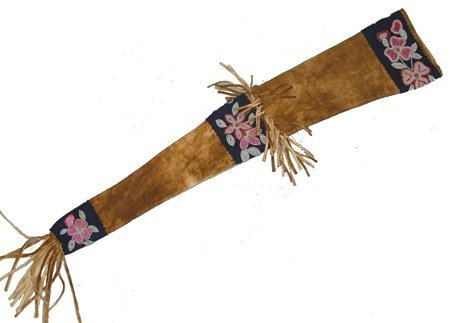 Athabascan Beaded Scabbard