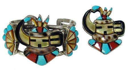 Zuni Inlay Set - Gladys Smith
