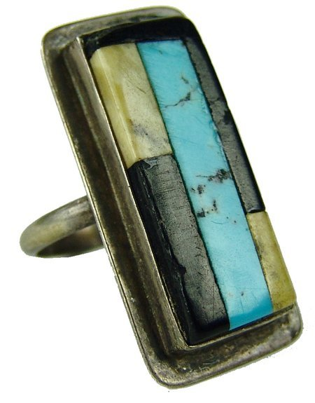 Zuni Inlay Ring