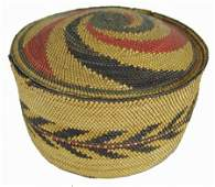 Makah Lidded Basket