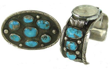 Navajo Jewelry Set - R. Platero