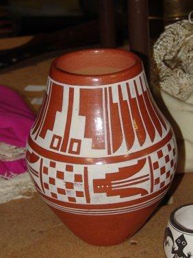 San Ildefonso Red Jar - Gilbert Atencio