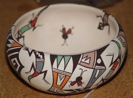 Acoma Pottery Bowl - C. Concho