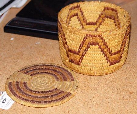2 Papago Baskets