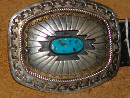 Navajo Belt with Buckle- W.M.