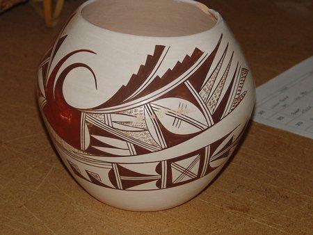 Hopi Pottery Jar - Marianne Navasie