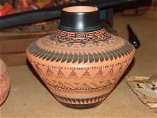 Navajo Pottery Jar - E. Whitegoat