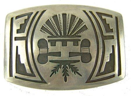 Hopi Belt Buckle