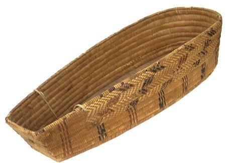 Salish Cradle Basket