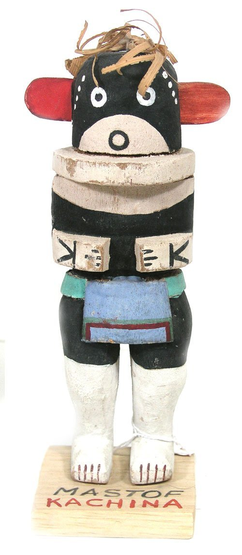12: Carved Kachina Doll