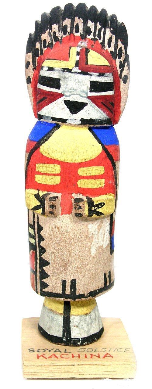 13: Carved Kachina Doll