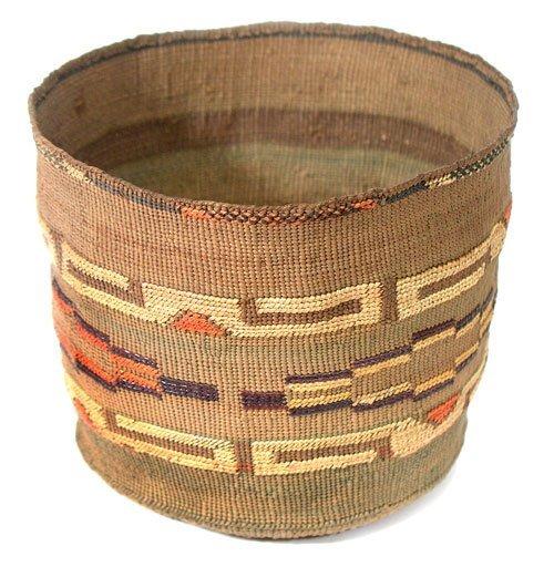 901: Tlingit Basket