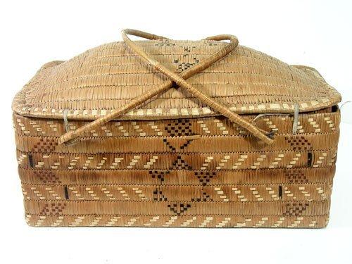 910: Salish Basketry