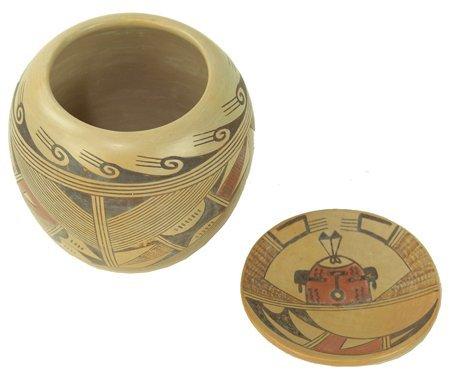 2 Hopi Pottery Pieces - Beth Sakeva