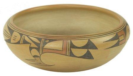 Hopi Pottery Bowl - Sadie Adams