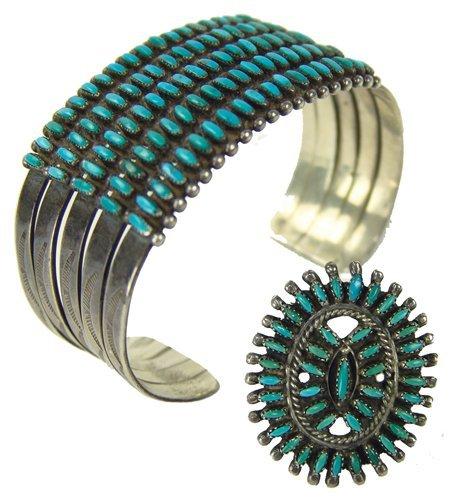 Zuni Bracelet & Ring Set