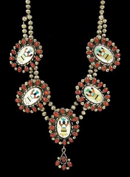 Navajo Necklace - Eula Mae Begay