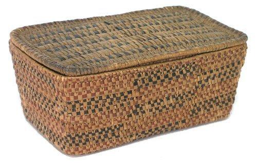 924: Salish Basket