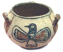 1468 Zuni Fetish Pot
