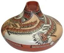 Navajo Pottery Jar - Lucy Leuppe McKelvey