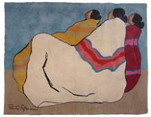 RC Gorman Tapestry (1931-2005)
