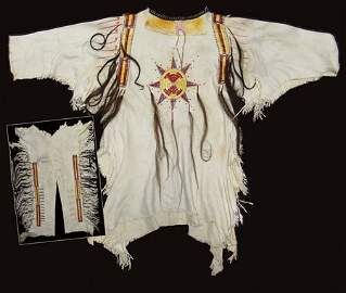 Mandan War Shirt Set