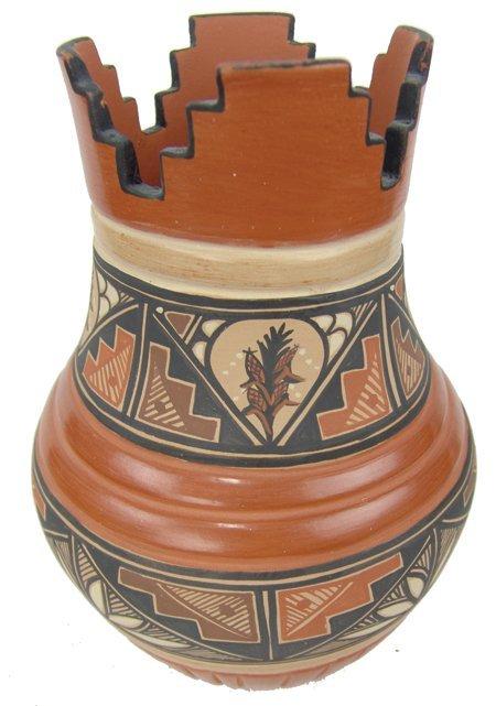 "Jemez Pottery Jar - Virginia ""Ponca"" Fragua"