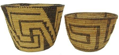 2 Pima Baskets