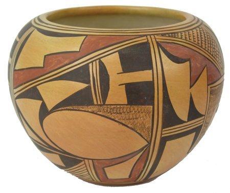 Hopi Pottery Jar - Laura Tomasie
