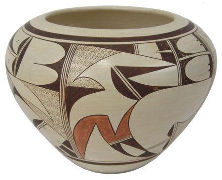 Hopi Pottery Jar - Joy Navasie (Frogwoman)