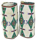 Plains Style Beaded Cuffs