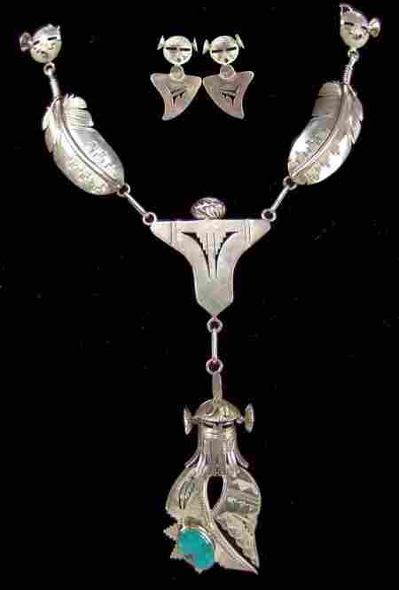 Navajo Necklace Set - Nelson Morgan