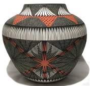 Acoma Pottery Jar - Jay Vallo
