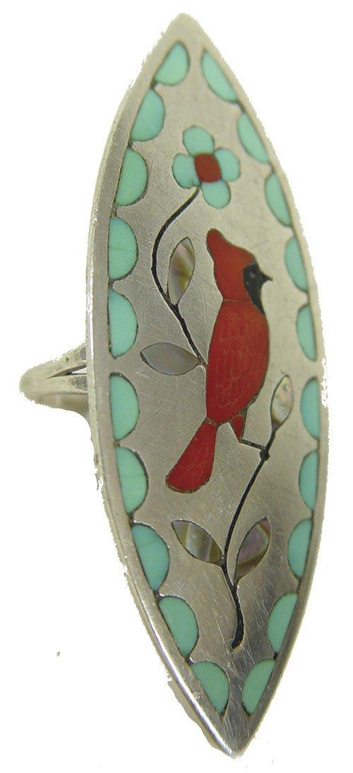 18: Zuni Inlay Ring