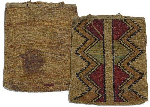 21: Nez Perce Cornhusk Bag