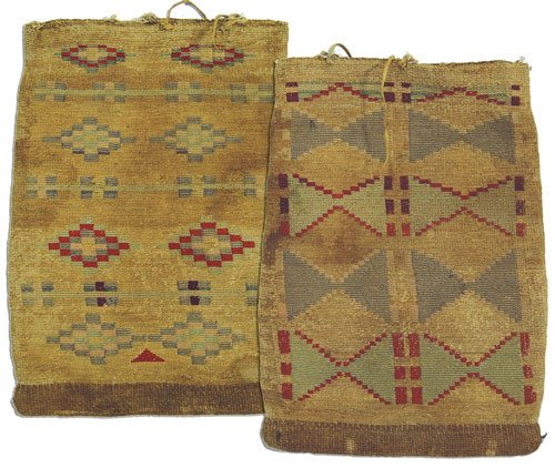 22: Nez Perce Cornhusk Bag