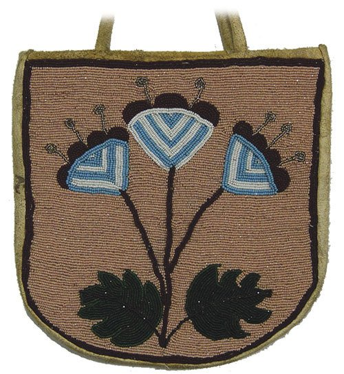24: Plateau Beaded Bag