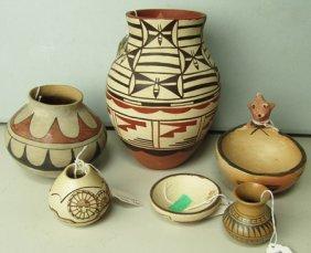 6 Southwest Pottery Pieces