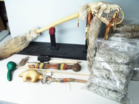 Coyote Dance Stick + Other Items