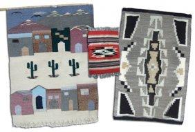 3 Rugs/weavings