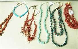 6 Necklaces