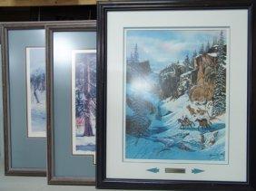 3 Framed L/e Prints
