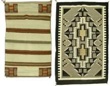 2 Navajo Rug/Weaving