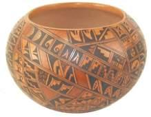Hopi Pottery Bowl - Bonnie Nampeyo (b. 1958)