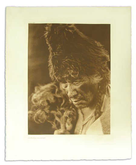 Edward S. Curtis Photogravure (1868-1952)